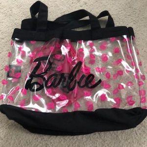 Handbags - Barbie plastic clear tote